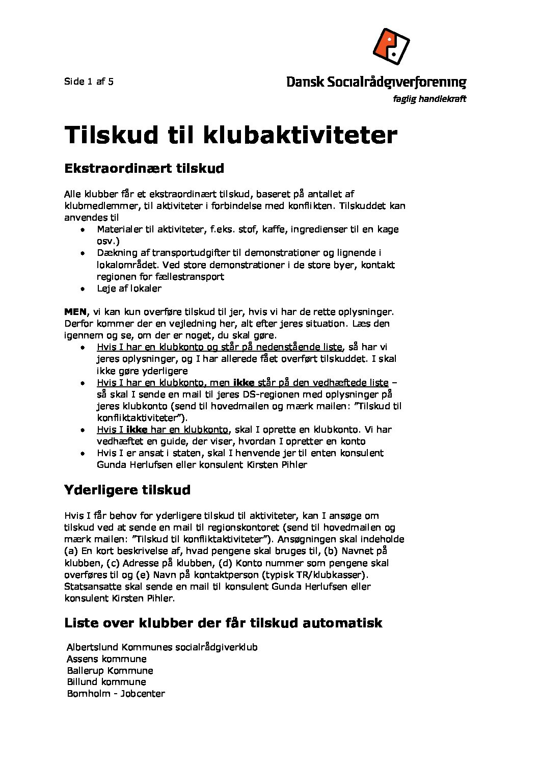 billund kommune job